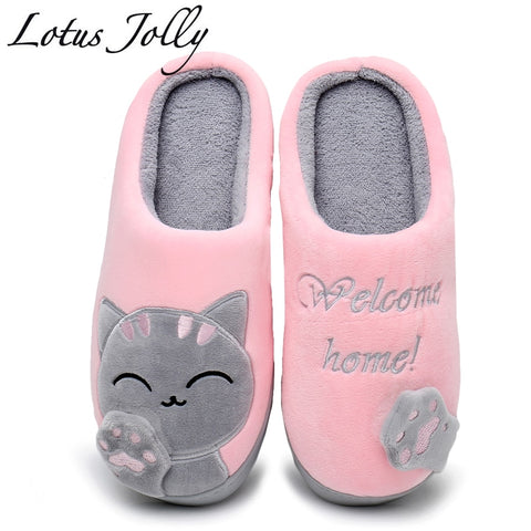 CUTE COZY CAT PAW SLIPPERS -->> 50% OFF