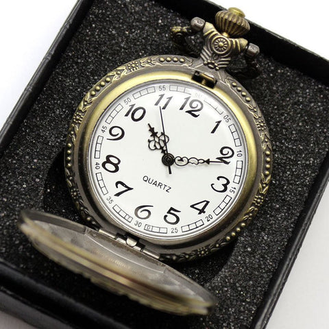 BUY Antique DAD Pocket Watch Necklace + FREE SHIPPING! Online