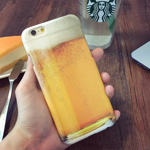 BUY Beer Phone Case for iPhone 5 5S 6 6plus 60% OFF Online-Phone Bags & Cases-My Favorite Online Store