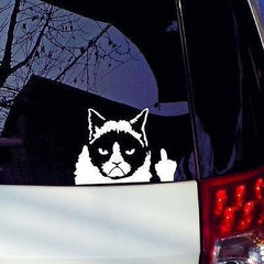 BUY Car 3D Grumpy Cat Sticker+FREE SHIPPING Online-Stickers-My Favorite Online Store