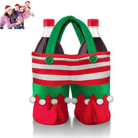 BUY Christmas Decoration Bottle Bag Online with SPECIAL PRICE 50% OFF!-Wine Bottle Covers-My Favorite Online Store