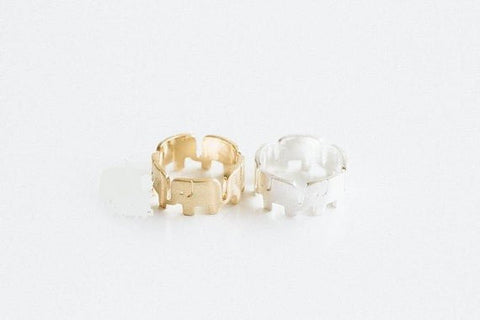 BUY Cute Elephant Rings in Gold or Silver! FREE SHIPPING! Online-Rings-My Favorite Online Store