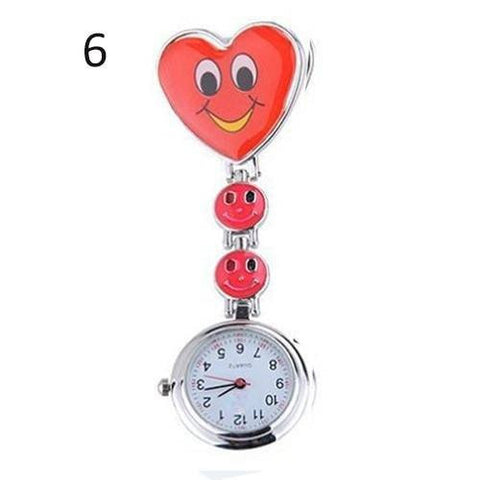 BUY Cute Smiling Faces Nurse Pocket Watch - JUST PAY SHIPPING AND HANDLING! Online-Pocket & Fob Watches-My Favorite Online Store