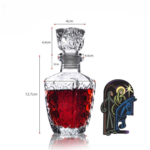 BUY Decorative Red RWine Bottle-250ml Online