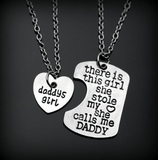 BUY FREE! Daddy's or Mommy`s Girl Necklace Set -> Just pay Shipping and Handling! Online-Pendant Necklaces-My Favorite Online Store