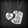Image of BUY FREE! Daddy's or Mommy`s Girl Necklace Set -> Just pay Shipping and Handling! Online-Pendant Necklaces-My Favorite Online Store
