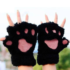BUY FREE! LOVELY CAT PLUSH PAW GLOVES ->> JUST PAY SHIPPING AND HANDLING! Online-PAW GLOVES-My Favorite Online Store
