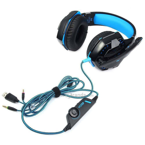 BUY Gaming Headset with Stereo Sound + FREE SHIPPING! Online-Earphones & Headphones-My Favorite Online Store
