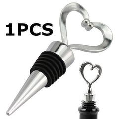 BUY Heart Wine Bottle Stopper + FREE SHIPPING! Online-Wine Stoppers-My Favorite Online Store
