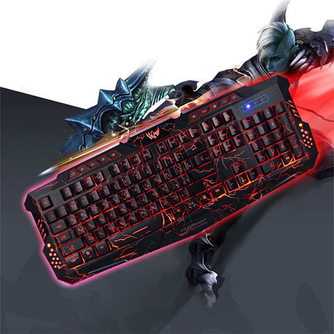 BUY PRO GAMER KEYBOARD - MULTICOLOR RGB (ENGLISH AND RUSSIAN) -->>FREE SHIPPING Online