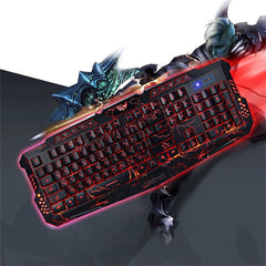 BUY PRO GAMER KEYBOARD - MULTICOLOR RGB (ENGLISH AND RUSSIAN) ->>FREE SHIPPING Online-gaming-My Favorite Online Store