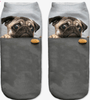 Image of BUY PUG 3D Print Socks 33% OFF+ FREE SHIPPING! Online-Socks-My Favorite Online Store