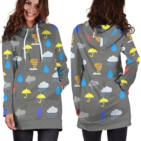 Storm Chaser Hoodie Dress
