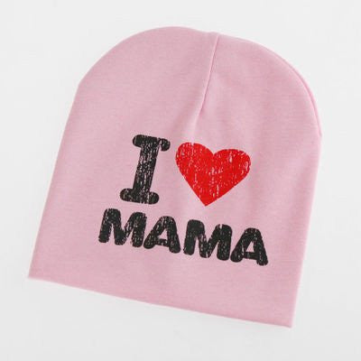 I LOVE PAPA OR MAMA BABY HATS-Hats & Caps-My Favorite Online Store