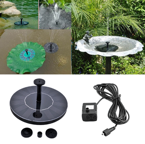 SOLAR POWERED EASY BIRD FOUNTAIN KIT - GREAT ADDITION TO YOUR GARDEN! ->> SAVE 59%-Pumps-My Favorite Online Store