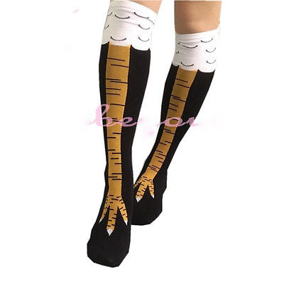 CHICKEN LEG SOCKS - Make It Look Like You Have Actual Chicken Legs