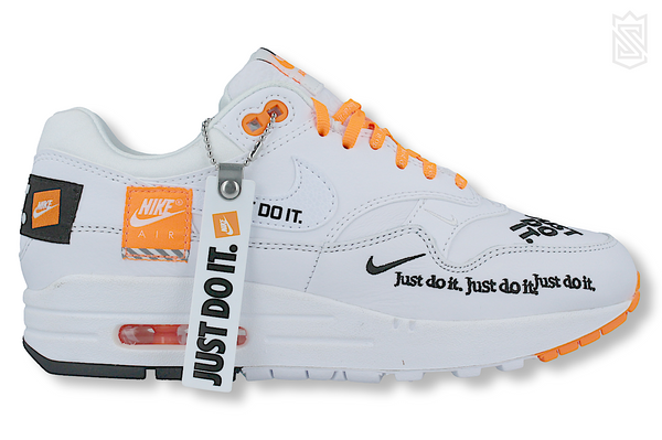 Nike Wmns Air Max 1 Lux 'Just Do it Pack' WhiteBlack 917691 100