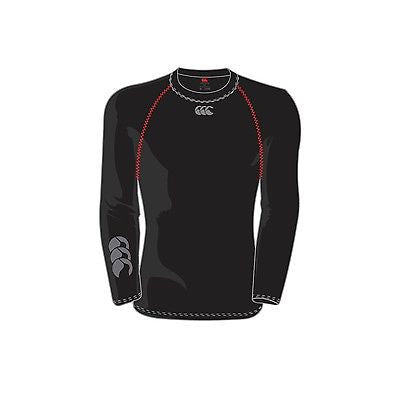 Canterbury Long Sleeved  compression  Top  Base Layer elastine spandex