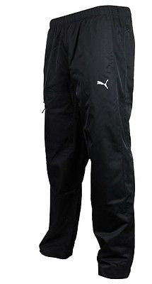 Puma Big Logo  Woven Pants Closed  Hem 'Black'