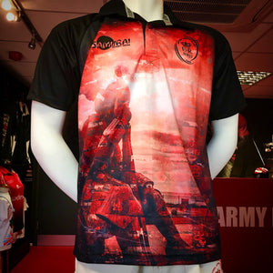 Samurai  Army Rugby Union Official 2018 Tommy  Remembrance Shirt
