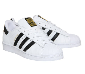 Adidas Superstar Trainer Unisex White Black/White
