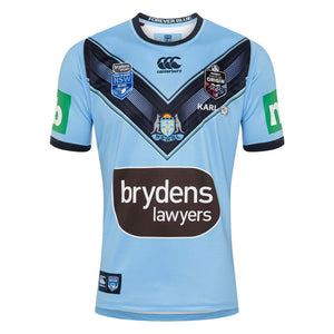 New South Wales  Blues State of Origin 2020 Mens Home Jersey