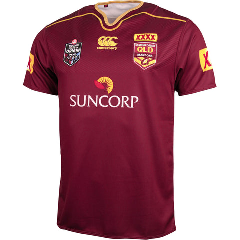Queensland State of Origin Replica Jersey 2016