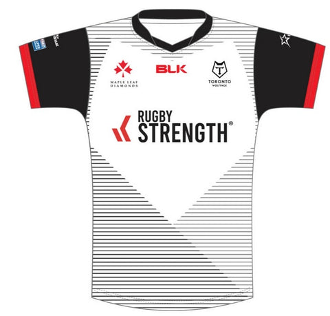 Toronto Wolfpack Home Replica Shirt front