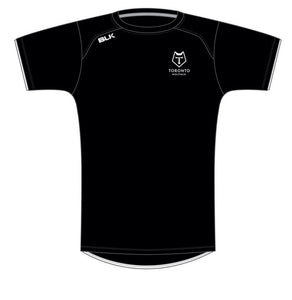 Toronto Wolfpack Training Tee Shirt  Black