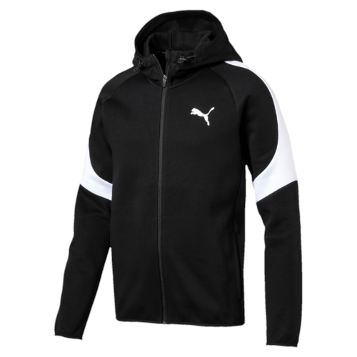 Puma Evostripe Core FZ Hooded jacket  - Black