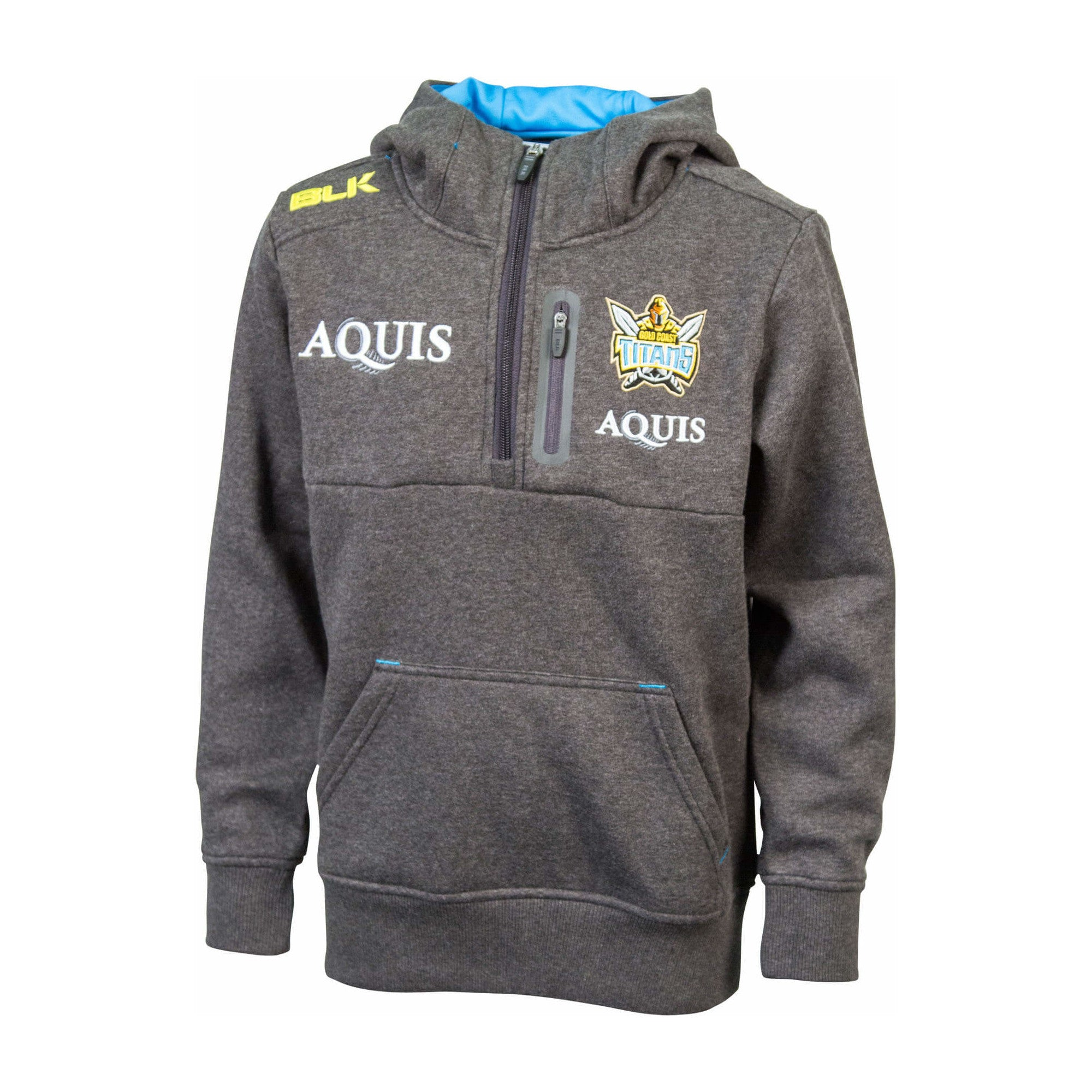GOLD COAST TITANS MEN'S 1/4 ZIP HOODIE