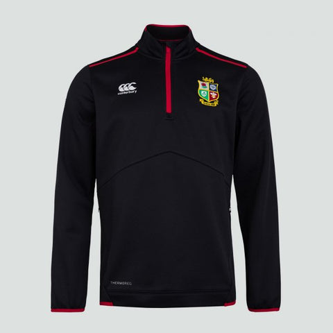 British & Irish  Lions   Thermoreg 1/4 Zip Fleec