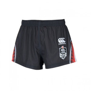 New Zealand Warriors Mens Home Replica Shorts