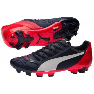 Puma evoPOWER 4.2 Firm Ground Football Boots - peacot