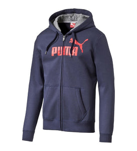 Puma  No1 Logo   Fleece Hooded  Jacket