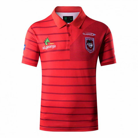 St George Illawarra Dragons  Players Polo Shirt Adults