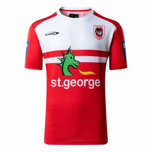 St George Illawarra Dragons  Training Tee Shirt  Shirt Adults