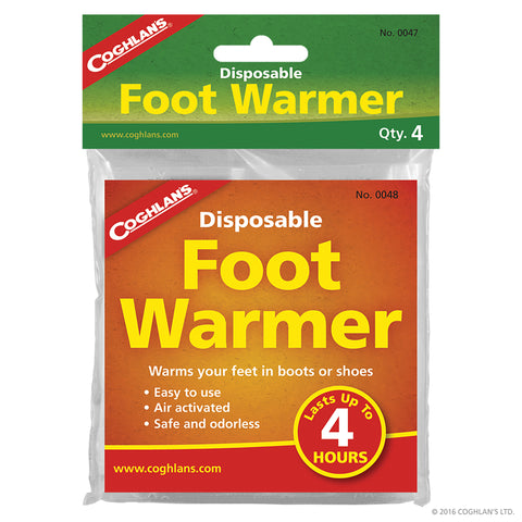 Coghlan's Disposable Foot Warmers