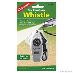 Coghlans 6 Function Whistle
