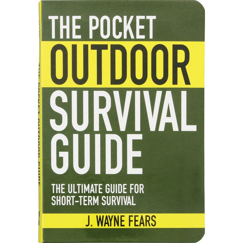 The Pocket Outdoor Survival Guide Book