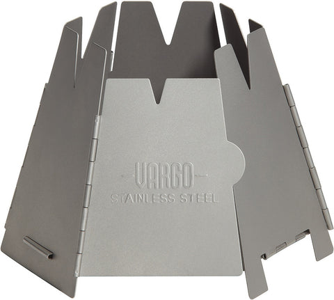Vargo Steel Backpacking Wood Stove