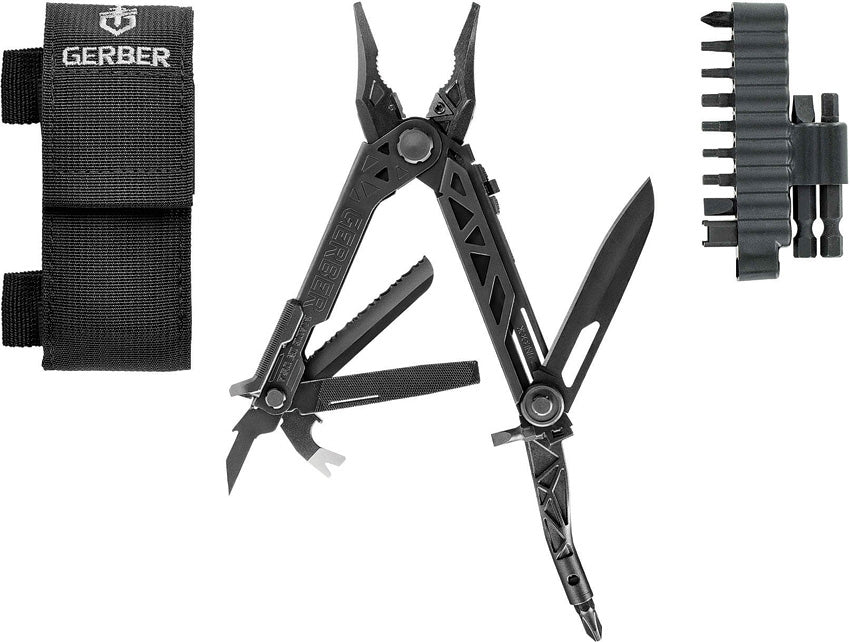 Gerber Center Drive Black w Bit Set