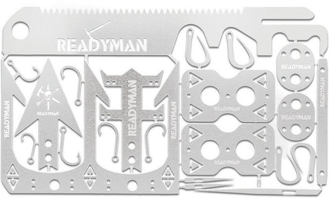 ReadyMan Enhanced Wilderness Survival Card