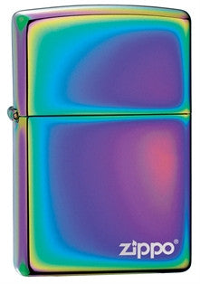 Zippo Classic Spectrum w Logo Lighter - Nalno.com Outdoor Equipment