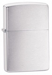 Zippo Armor Brushed Chrome Lighter - Nalno.com Outdoor Equipment