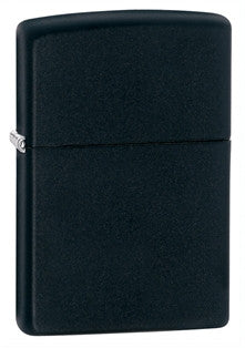 Zippo Classic Black Matte Lighter - Nalno.com Outdoor Equipment