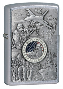 Zippo US Joined Forces Lighter - Nalno.com Outdoor Equipment