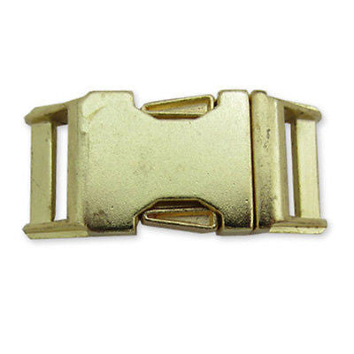 "3/4"" Gold Side Release Buckle - Nalno.com Outdoor Equipment"