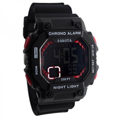 Dakota Midsize Square Digital Watch E.L.