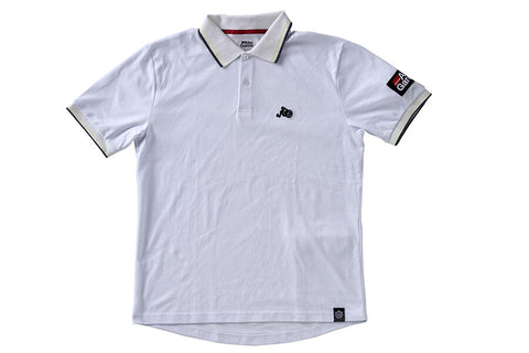 Abu Garcia Glow Polo Shirt White (M-XL)